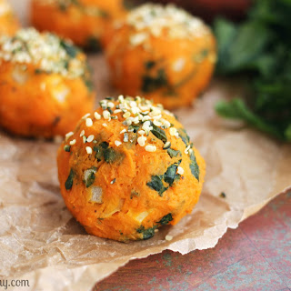 Sweet Potato and Kale Balls.