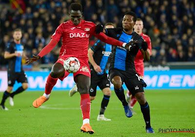 Bij Oostende waren ze niet blij na de rode kaart voor Yaya Sané
