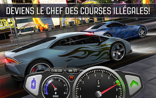 Top Speed: Drag & Fast Racing 3D  captures d'écran 4