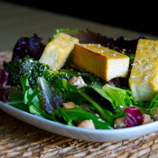 Sesame Tofu + Broccoli Salad