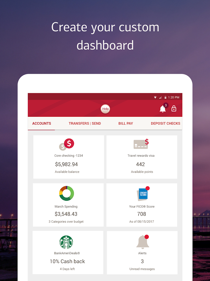 bank of america cash pay mobile app
