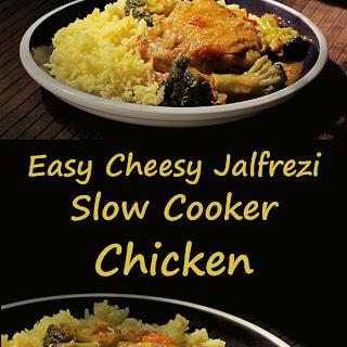 Easy Cheesy Jalfrezi Chicken
