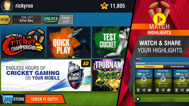 World Cricket Championship 2 Screenshot 7