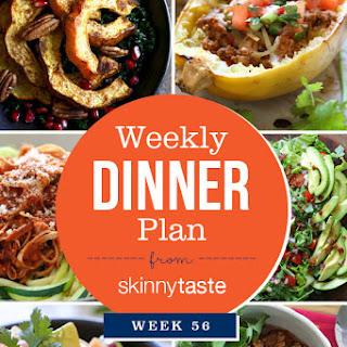 Skinnytaste Dinner Plan (Week 56) Whole30 Week