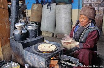 Photo: les Chapatis sont chaudes