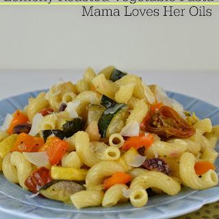 Lemony Roasted Vegetable Pasta