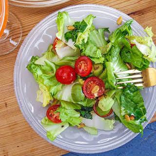 Giada De Laurentiis' Tomato, Avocado and Escarole Salad.