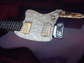 Photo: This is a completely custom Ibanez Talman guitar. Built for me by a now-deceased member of the Ibanez shop, the thing sounds like John Fogerty with an extra set of balls.