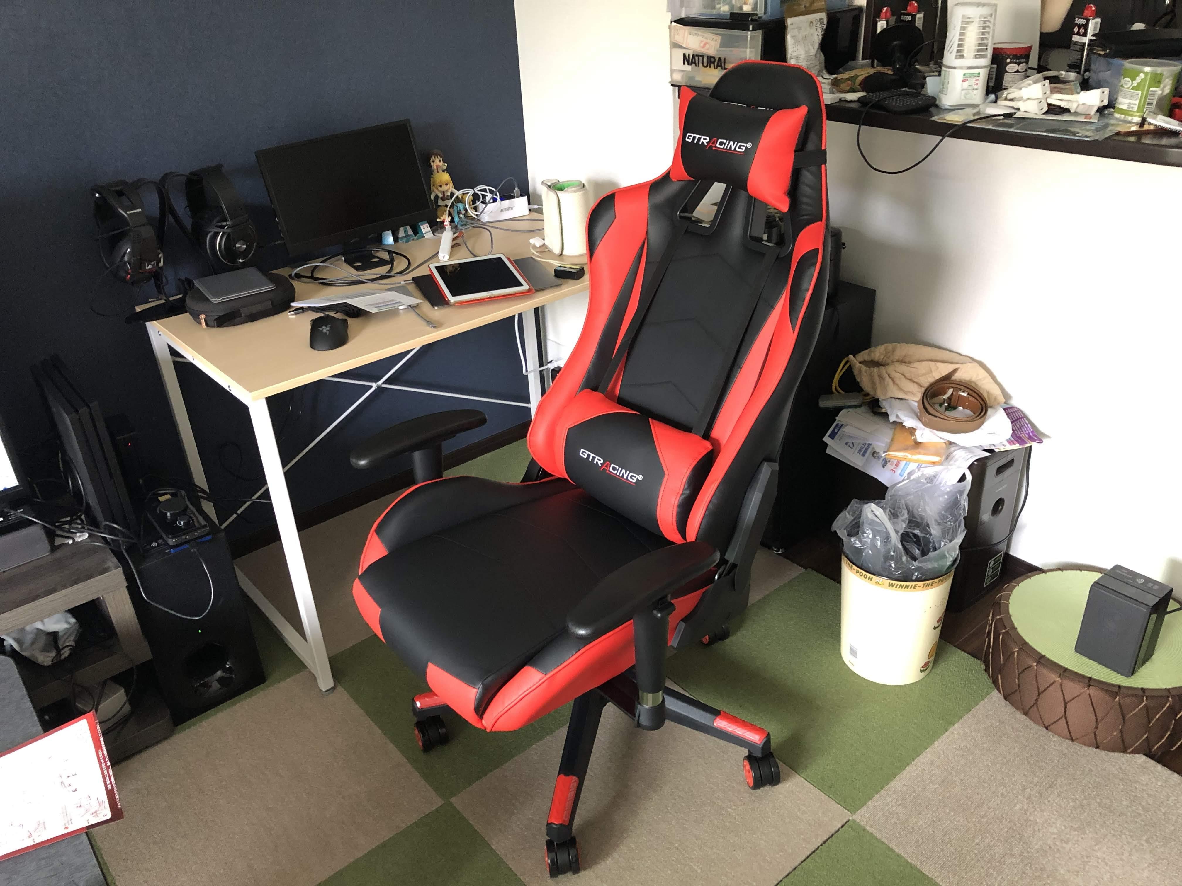やっと椅子が届いた