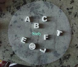 Photo: Gessetti a forma di lettera