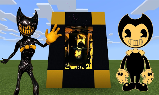 Maps Bendy Horror Game for Minecraft PE 7.7 APK + Mod (Free purchase) إلى عن على ذكري المظهر