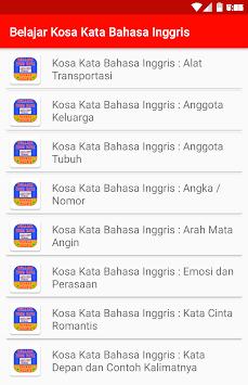 Download Belajar Kosa Kata Bahasa Inggris Apk Latest Version App For