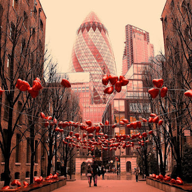 Valentines day London