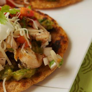 Chicken Guacamole Tacostadas