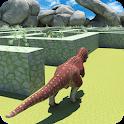Real Dinosaur Maze Runner Survival 2019 icon