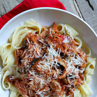 Slow Cooker Chicken Cacciatore.