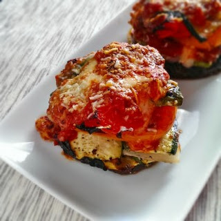 Portobello Mushroom Lasagna Stacks
