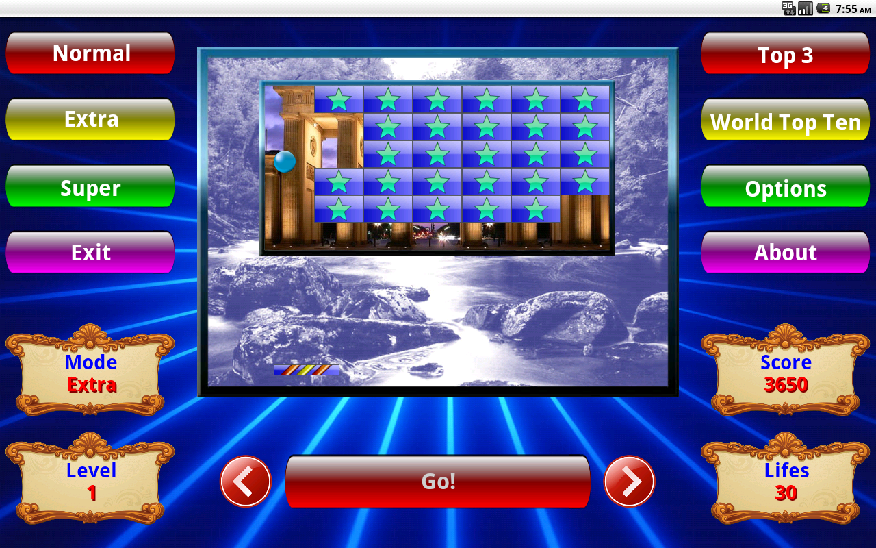 Арканоид, Arkanoid- screenshot
