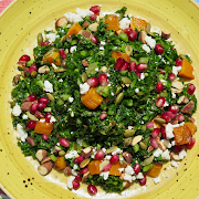 Kale & Pomegranate Salad