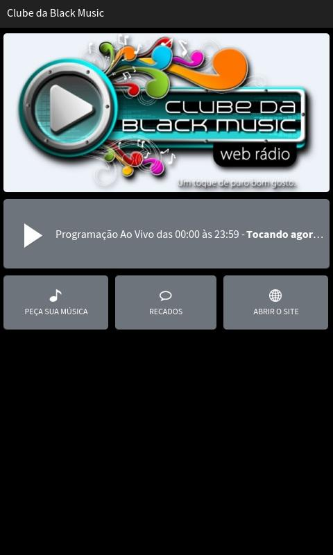 Clube da Black Music- screenshot