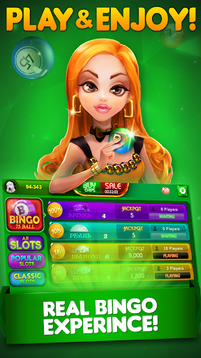 Bingo City 75: Free Bingo & Vegas Slots 12.71 screenshots 1