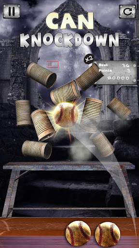 Play Can Knockdown Tin Smasher