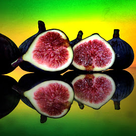 Fresh figs by Janette Ho - Food & Drink Fruits & Vegetables