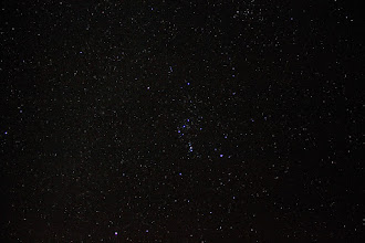 Photo: The unmistakable constellation of  Orion.