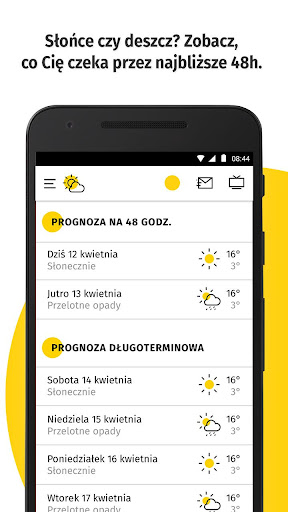 Pogoda Onet 1.2.3.78 screenshots 3