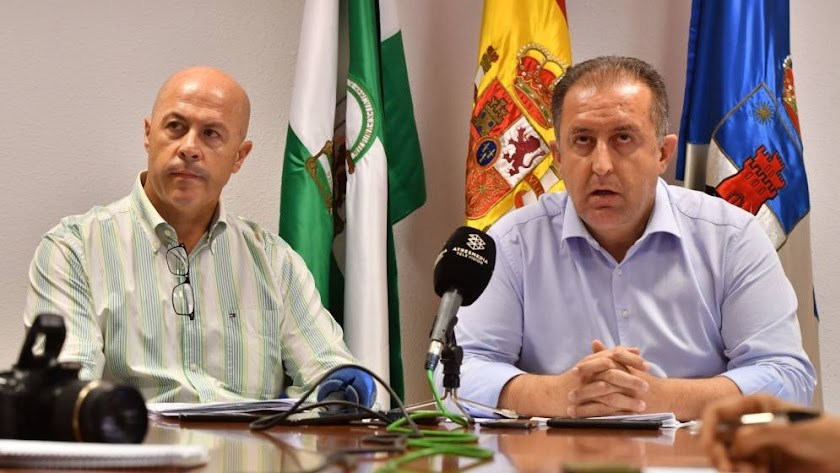Antonio Inocencio López Megías y Antonio Barrionuevo Osorio.