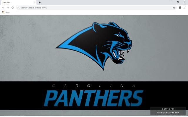 Carolina Panthers New Tab