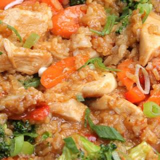 One-Pot Teriyaki Chicken And Rice.