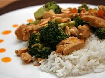 Amazing Thai Peanut Chicken