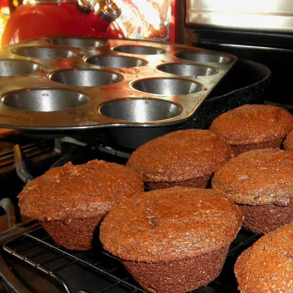 Autumn Spiced Bran Muffins Recipe