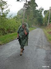 Photo: Pluie du matin n'arrête pas les pélerines...