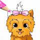 Surprise Dolls Pets Cute Puppies Coloring Pages APK