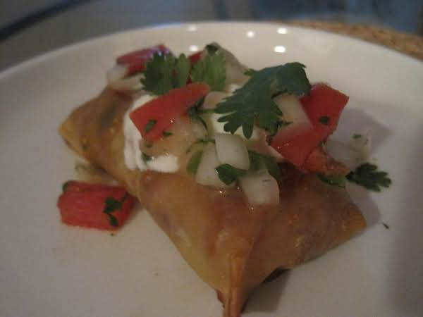 Mexican Inspired Egg Rolls