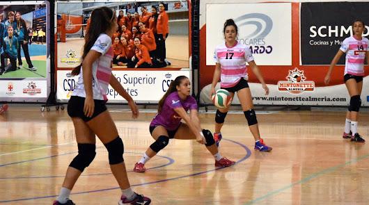 Las chicas de Michelin Mintonette Almería repiten otro 2-3