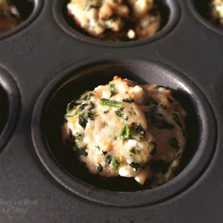 Meatball Meals - Spinach and Feta Edition.