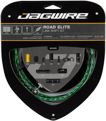 Jagwire Road Elite Link Shift Cable Kit with Ultra-Slick Uncoated Cables alternate image 12