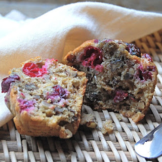 Cranberry-Oatmeal Muffins.