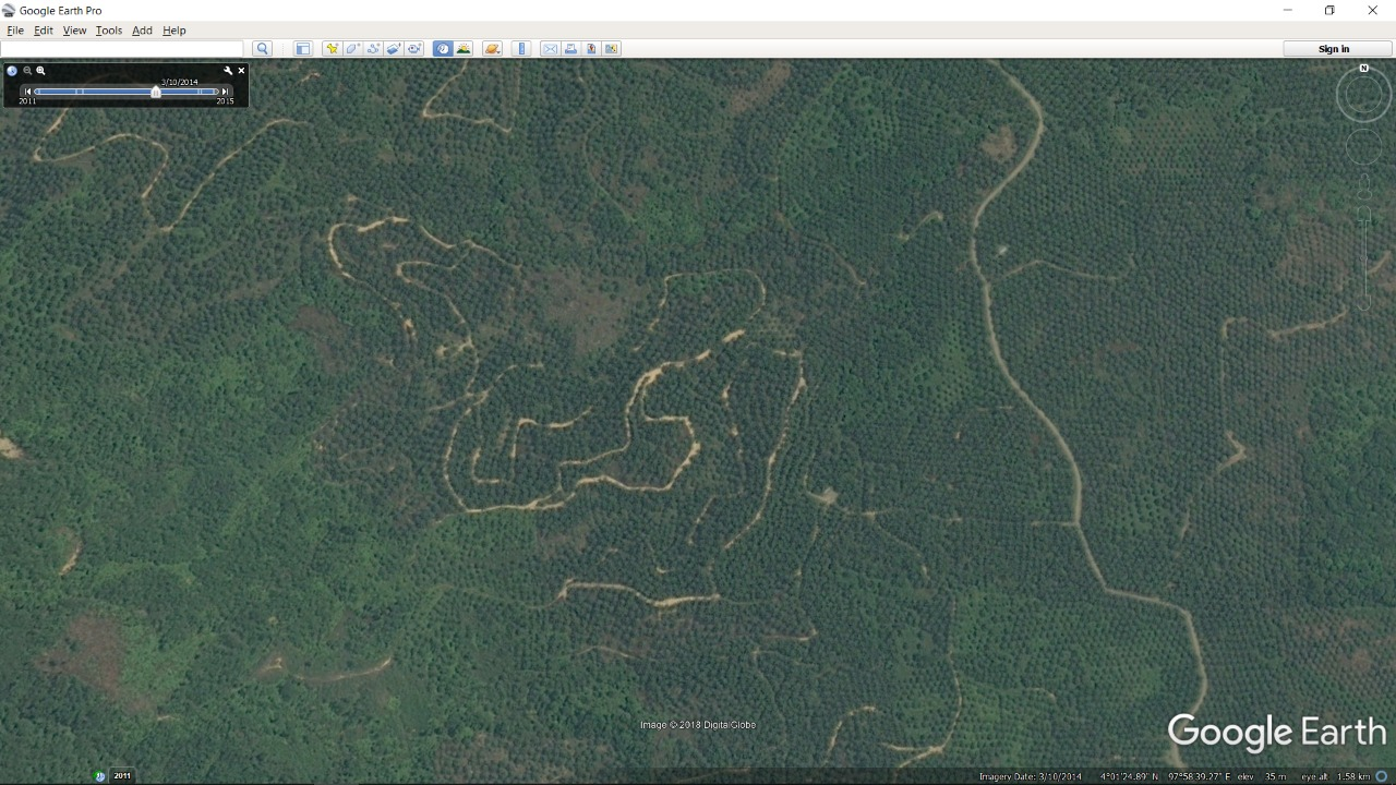 Forest, Nature and Environment Aceh (HAkA) – Google Earth