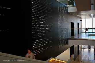 Photo: Main Stairs - Interior. Göteborgs nya stadsbibliotek/Gothenburg's New City Library.