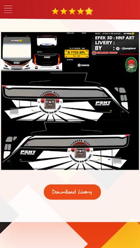 Livery Bussid HD Complete 1.4 screenshots 6
