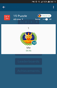 15 Puzzle (Game of Fifteen)- screenshot thumbnail