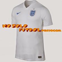 Photo: Inglaterra 1ª Mundial 2014 * Camiseta Manga Corta * Camiseta Manga Larga