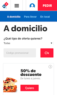 Dominos Pizza - Venta Online Screenshot 4