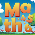 Smart Grow: Math for 4 to 6 year-old children icon
