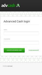 Advcash screenshot