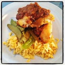 Photo: Poulet grillé aux pacanes et sirop d'érable #LaCafette #Joliette